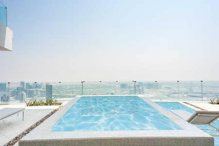 شقة فندقية 2 غرفة نوم للبيع في قرية جميرا الدائرية، دبي - Fully Furnished Hotel Apt  Private Pool Sky Garden
