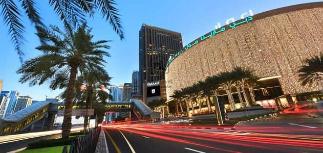 شقة فندقية  للايجار في دبي مارينا، دبي - شقة فندقية في العنوان دبي مارينا (فندق المول) دبي مارينا 84000 درهم - 5316343