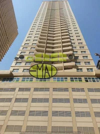 شقة 1 غرفة نوم للايجار في مدينة الإمارات، عجمان - شقة في برج الزنبق مدينة الإمارات 1 غرف 16000 درهم - 4983790