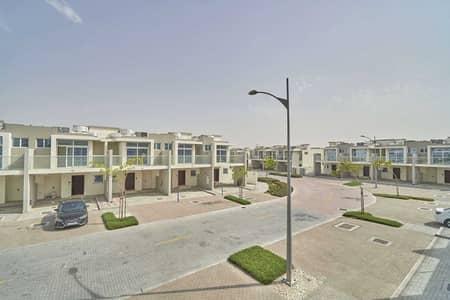 3 Bedroom Townhouse for Rent in DAMAC Hills 2 (Akoya Oxygen), Dubai - Upgraded Single Row corner Unit in Albizia