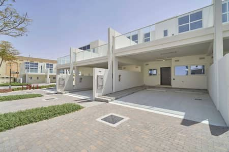3 Bedroom Townhouse for Rent in DAMAC Hills 2 (Akoya Oxygen), Dubai - Furnished Middle Unit in Pacifica