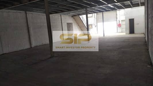 مستودع  للايجار في أم رمول، دبي - Warehouse with Mezzanine In Umm Ramool for Rent at 110k Neg