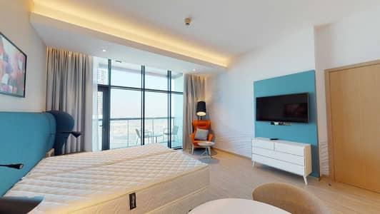Studio for Rent in Al Sufouh, Dubai - 50% off commission I Furnished I Balcony