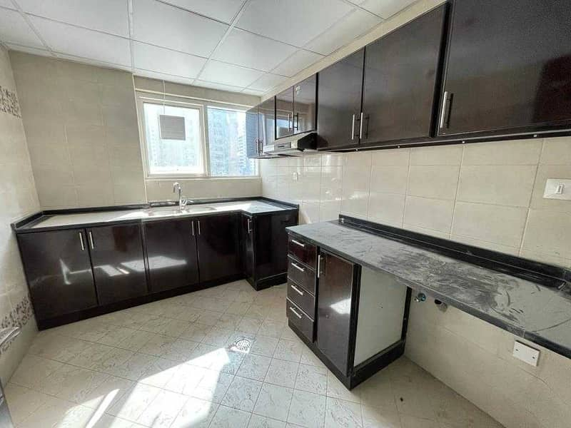 Brand New Parking Free Spacious 2-BR Rent Only 33k/Yr Near To Baqer Mohebi