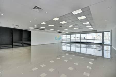 مکتب  للايجار في شارع الشيخ زايد، دبي - OPEN PLAN OFFICE | Best Quality Building  | Chiller free and grace period.