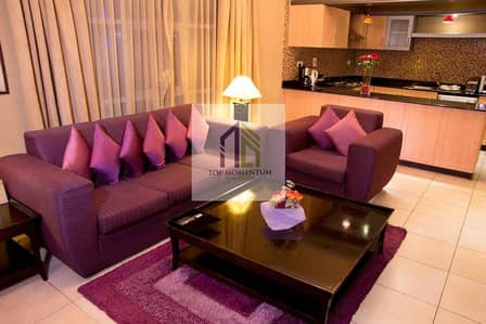 Luxury fully furnished 2 br apartment in Barsha