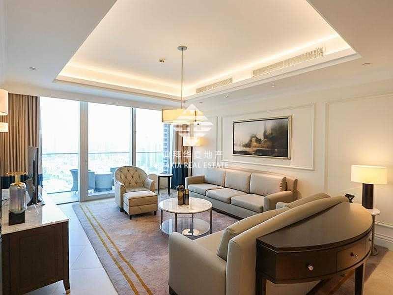 Elegantly Furnished | Stunning Burj Khalifa View