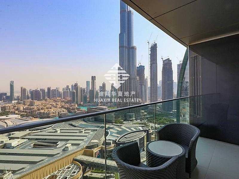11 Elegantly Furnished | Stunning Burj Khalifa View