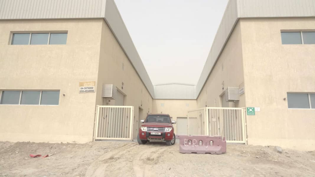 DEAL OF THE MONTHH  1816 Sqft  WAREHOUSE WITH 35.35KW POWER IN JEBEL ALI