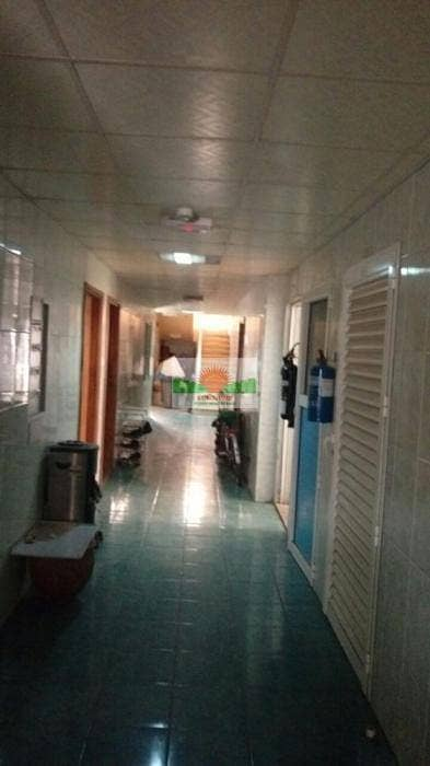 سكن عمال  للايجار في المنطقة الصناعية ، الشارقة - 17 Rms Labour Camp with shower in I.A.15  -  AED 408,000 /yr