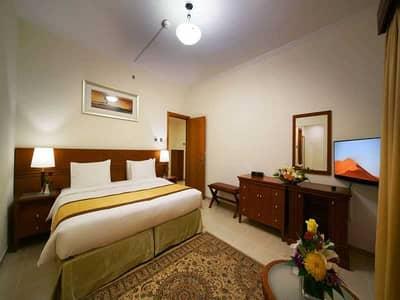 2 Bedroom Hotel Apartment for Rent in Bur Dubai, Dubai - King size bed