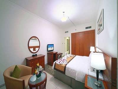 1 Bedroom Hotel Apartment for Rent in Bur Dubai, Dubai - Furnished One Bedroom Hotel Apartment Near Burjuman Metro Station