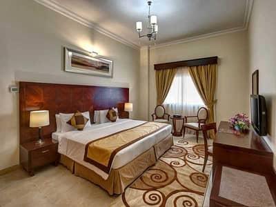 2 Bedroom Hotel Apartment for Rent in Al Barsha, Dubai - Bedroom