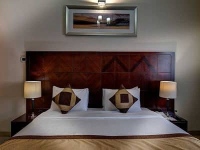 1 Bedroom Hotel Apartment for Rent in Al Barsha, Dubai - King Bed