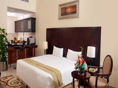 Hotel Apartment for Rent in Al Barsha, Dubai - Furnished Studio Hotel Apartments Near Mall of The Emirates and Metro