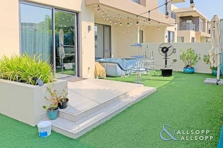 5 Bedroom Townhouse for Sale in Dubai Hills Estate, Dubai - Corner Plot | Large Plot | Pool & Park Facing