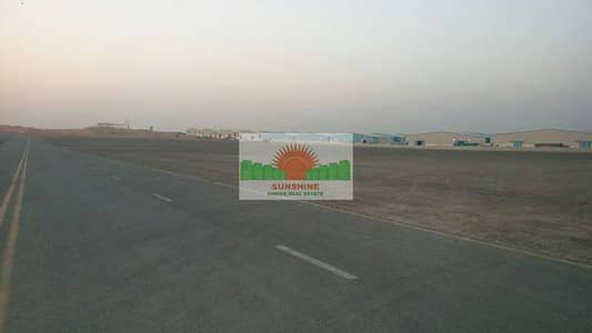 Plot for Rent in Emirates Modern Industrial Area, Umm Al Quwain - 20000 50000 100000 sqft open land in UAQ  -  AED 160