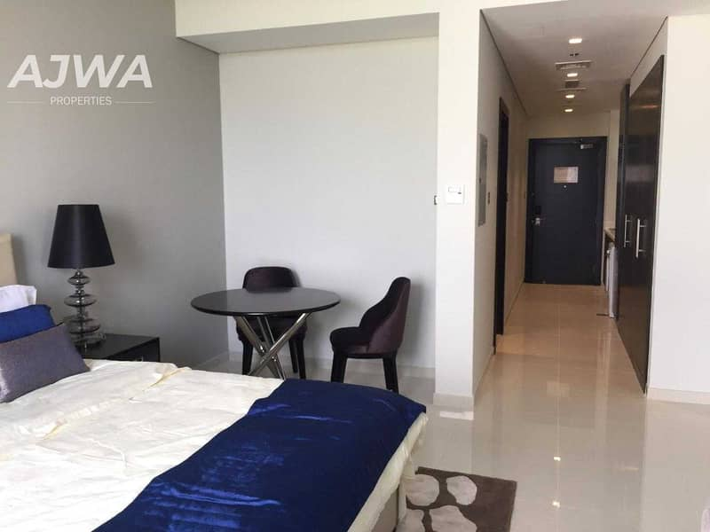 Amazing Deal   Furnished Studio   Damac Hills with Golf View