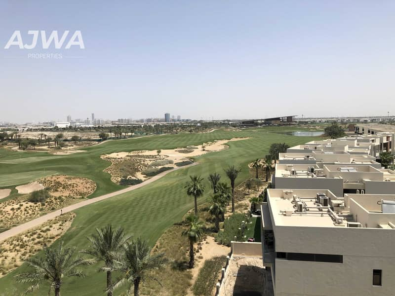 15 Amazing Deal   Furnished Studio   Damac Hills with Golf View