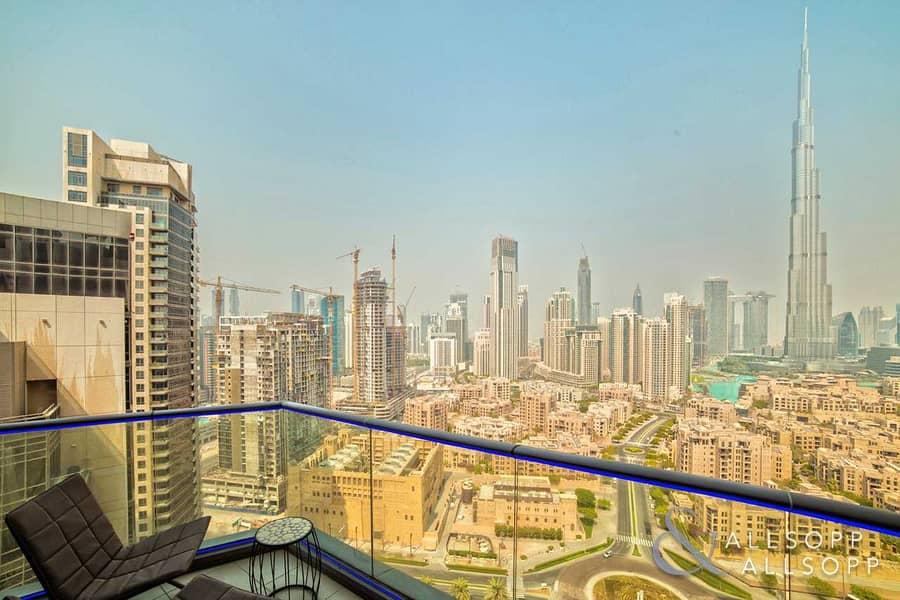 3 Bed Penthouse | Full Burj Khalifa View