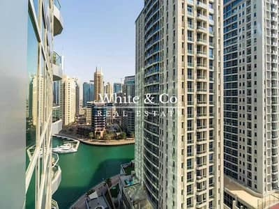 2 Bedroom Flat for Rent in Dubai Marina, Dubai - AVAILABLE AUG.   MODERN FURNISHINGS   ALLOCATED PARKING