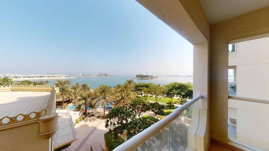 2 Balcony   Sea view   Shared gym