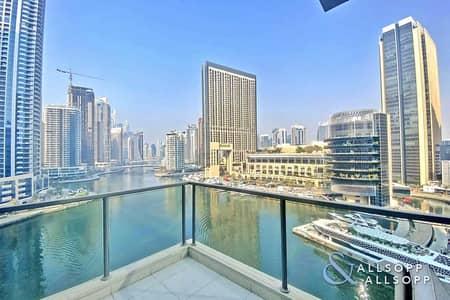 شقة 3 غرف نوم للايجار في دبي مارينا، دبي - 3 Beds | Full Marina Views | Chiller Free
