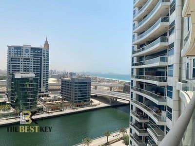 شقة 2 غرفة نوم للبيع في دبي مارينا، دبي - شقة في درة باي دبي مارينا 2 غرف 1600000 درهم - 5319204