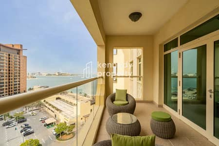 1 Bedroom Apartment for Rent in Palm Jumeirah, Dubai - Sea View | Fully Furnished | Free Maintenance
