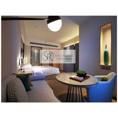Hotel Apartment for Rent in Khalifa City A, Abu Dhabi - Brand New | Fully Furnished & Serviced | Luxurious  Studio | Flexible Payments !