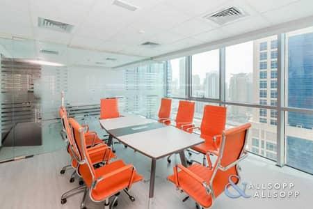 مکتب  للبيع في أبراج بحيرات الجميرا، دبي - Corner Unit   Furnished Unit   7%+ Ready ROI