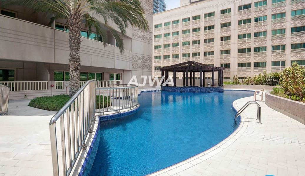 Next to Metro Station   Furnished 1BR With Marina View   Chiller Free