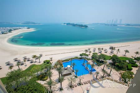فلیٹ 1 غرفة نوم للبيع في نخلة جميرا، دبي - 1 Bed   High Floor   Full Sea View   Beach Access