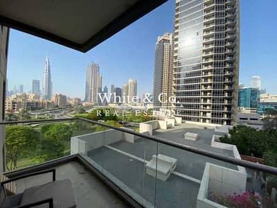 فلیٹ 1 غرفة نوم للبيع في وسط مدينة دبي، دبي - BURJ VIEWS / LOWER FLOOR / FULLY FITTED KITCHEN
