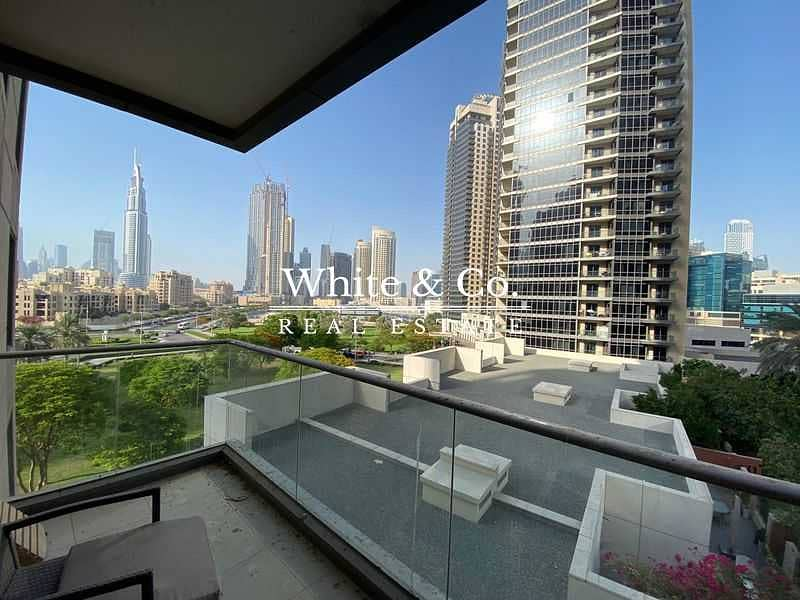BURJ VIEWS / LOWER FLOOR / FULLY FITTED KITCHEN
