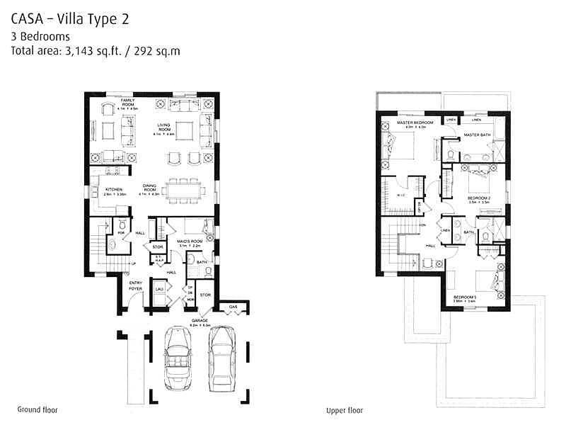 20 Type 2 | Three Bedrooms | Quiet Location