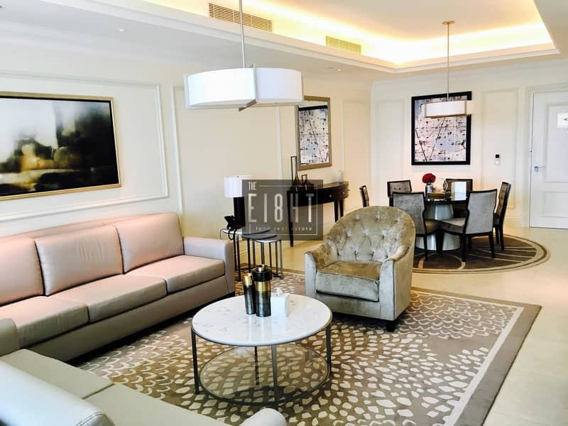 2 Br Luxury Furnished  in 5 star's Hotel