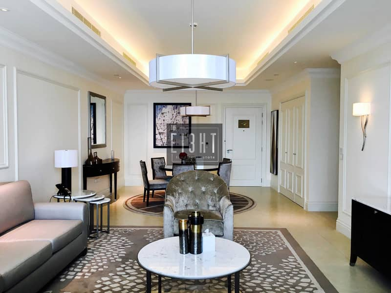 2 2 Br Luxury Furnished  in 5 star's Hotel