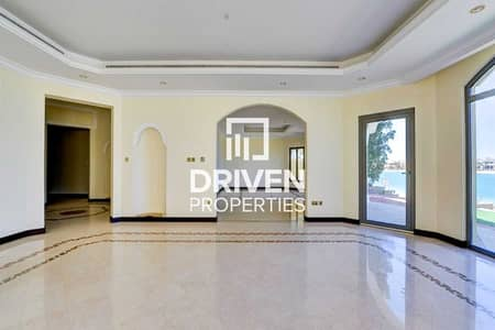 5 Bedroom Villa for Sale in Palm Jumeirah, Dubai - High Number and Vacant with Full Sea View