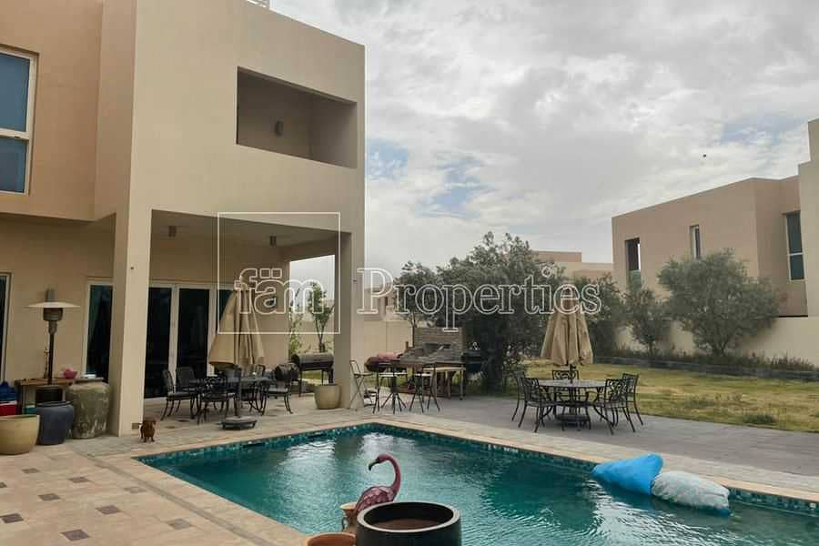 Large plot   Genuine   Private pool