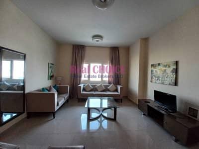 فلیٹ 2 غرفة نوم للايجار في داون تاون جبل علي، دبي - Fully Furnished   Near Metro   Spacious Balcony