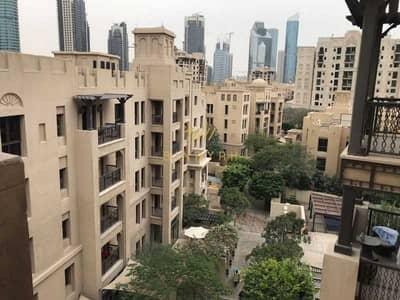 شقة 1 غرفة نوم للايجار في المدينة القديمة، دبي - Huge & Superlative 1BR Panoramic community view 