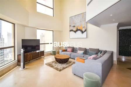 4 Bedroom Apartment for Sale in Jumeirah Beach Residence (JBR), Dubai - Four Bedroom Duplex   High Floor   Upgraded