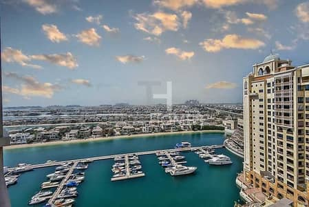 2 Bedroom Apartment for Rent in Palm Jumeirah, Dubai - Exclusive | Full Marina Views | Immaculate