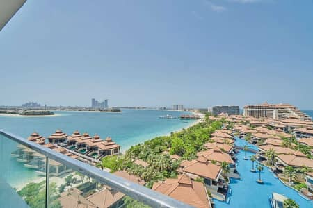 شقة 1 غرفة نوم للبيع في نخلة جميرا، دبي - An Investor's Dream with Panoramic Sea Views
