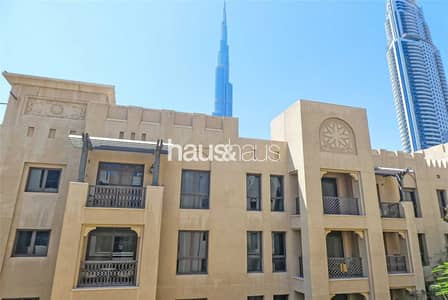2 Bedroom Apartment for Sale in Old Town, Dubai - Vacant on Transfer | Burj Khalifa View | Study