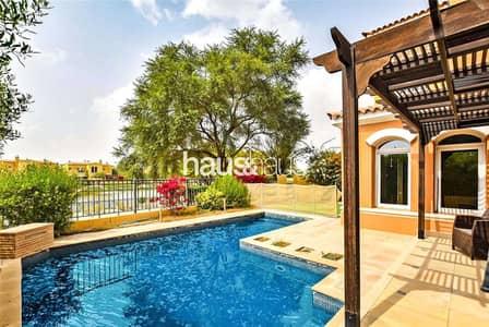فیلا 3 غرف نوم للبيع في المرابع العربية، دبي - Lake View | Private Pool | Extended | Type B