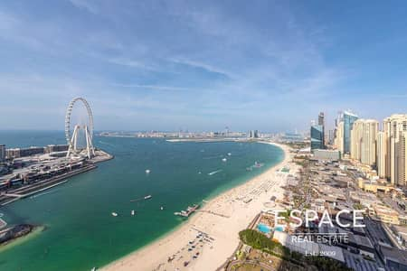 4 Bedroom Flat for Sale in Jumeirah Beach Residence (JBR), Dubai - One of a Kind | 4BR plus Maids | Penthouse