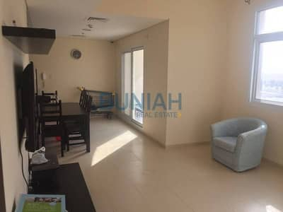 1 bedroom with balcony available for rent at Mazaya 6
