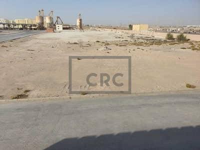 ارض تجارية  للايجار في جبل علي، دبي - Near Al Asayal Rd | Vacant Land | Storage